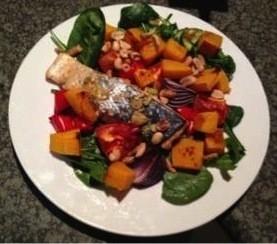 Asian Style Salmon Salad